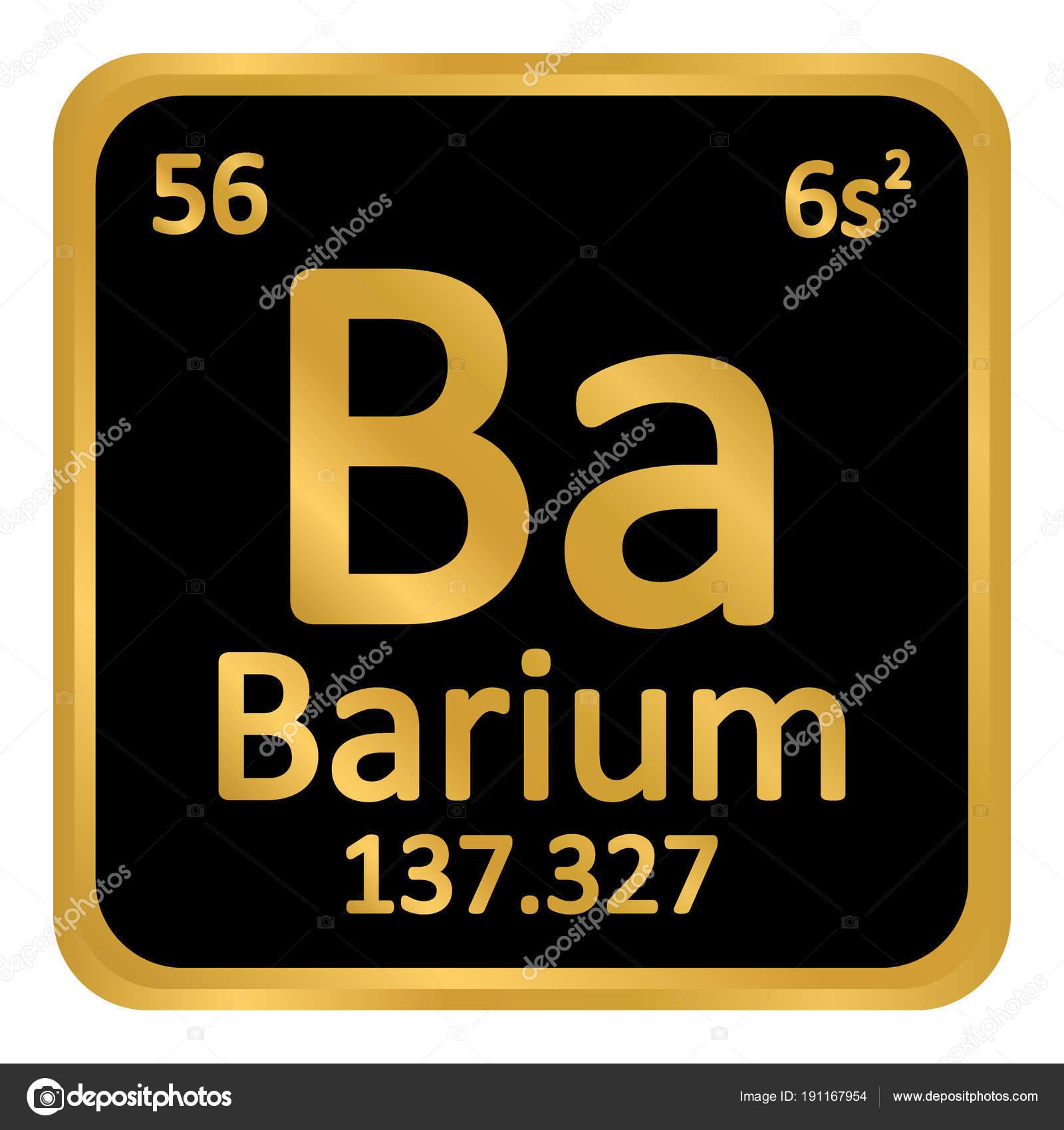 Icono de tabla periodica elemento bario archivo imgenes icono de tabla periodica elemento bario archivo imgenes vectoriales urtaz Images