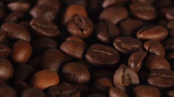 Zblízka zrn kávy