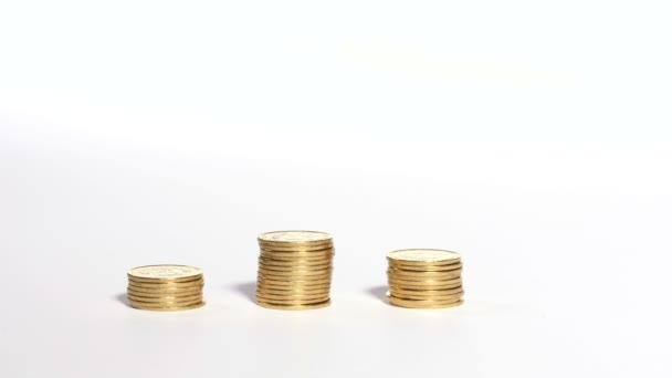hromady mincí
