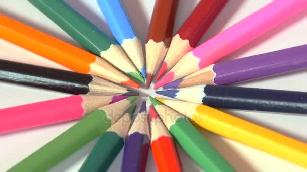 Forma kruh s ostrými konci tužky