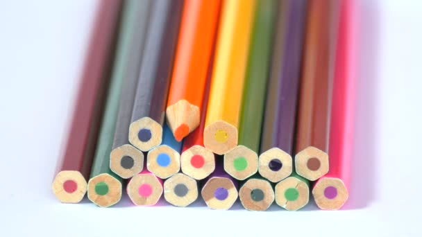 Bunch of pencils set in different shapes