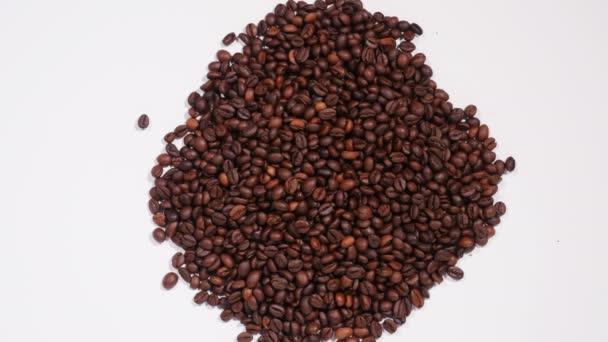 Anordnung der Kaffeebohnen