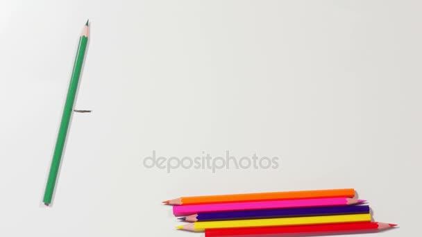 Slovo umění z tužky