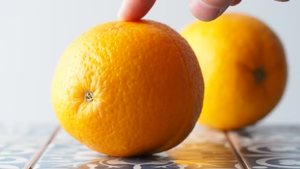 Oranges for homemade lemonade