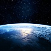 Photo Earth from Space. Best Internet Concept of global business from concepts series. Elements of this image furnished by NASA. 3D illustration