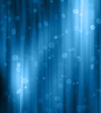 Blue abstract background. Smooth waves and blur, gentle blur and light