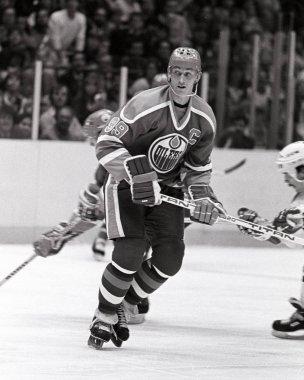 Wayne Gretzky of Former Oilers