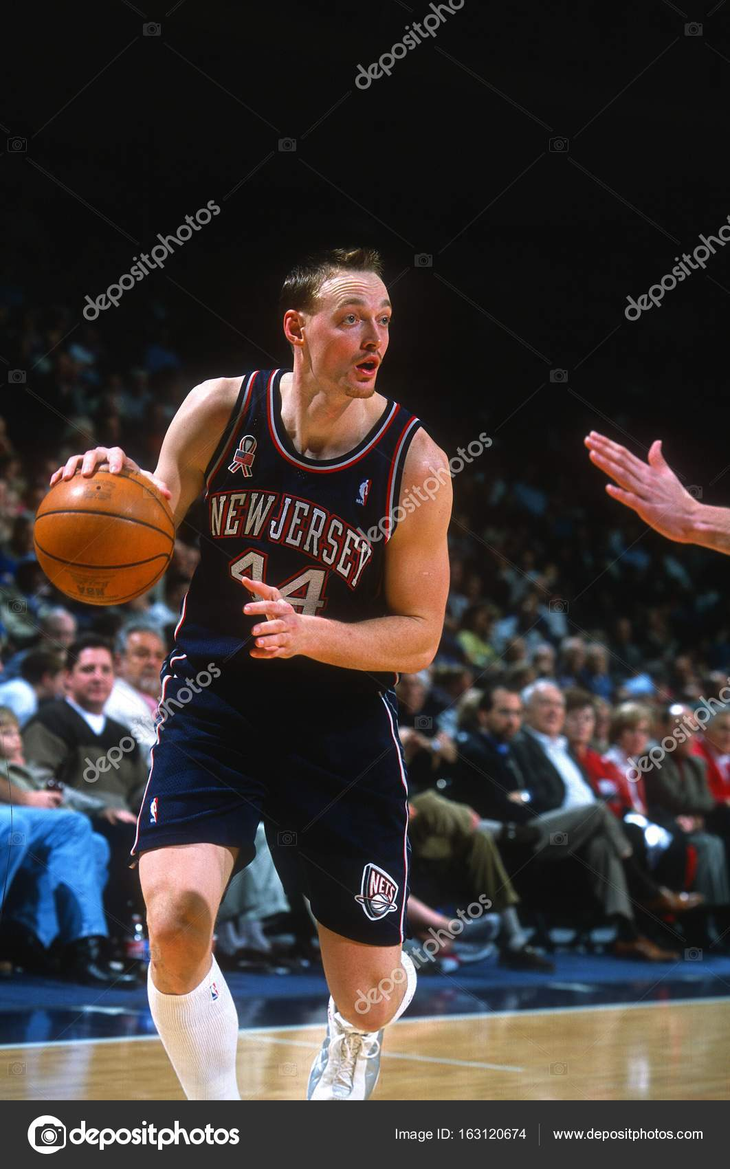 Keith Van Horn New Jersey Nets — Fotografia de Stock Editorial ... 220b27c1c
