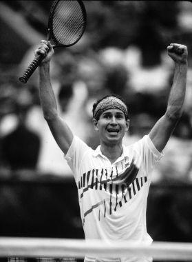 John McEnroe Professional Tennis Player