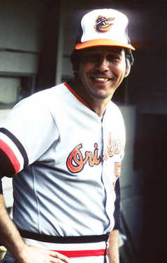 Brooks Robinson of the Baltimore Orioles.