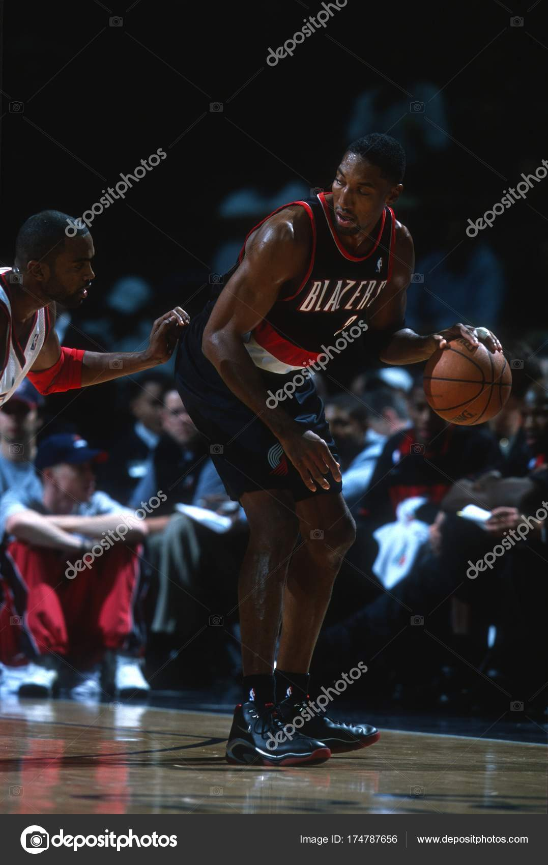online store 76ee8 ef12f Scottie Pippen Portland Trailblazers – Stock Editorial Photo ...