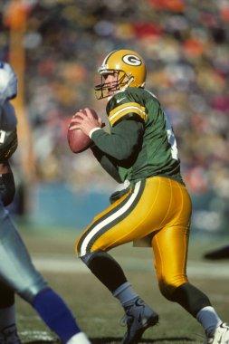 Brett Farve Quarterback for the Green Bay Packers