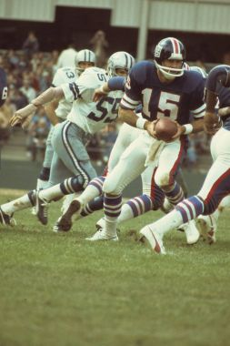 Craig Morton Quarterback for the New Giants photographed in 1975.