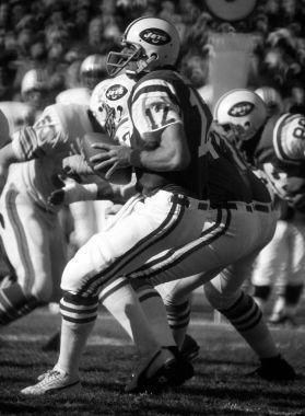 Joe Namath of the New York Jets.