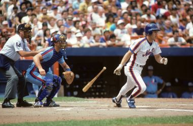 Lenny Drystra of the New York Mets