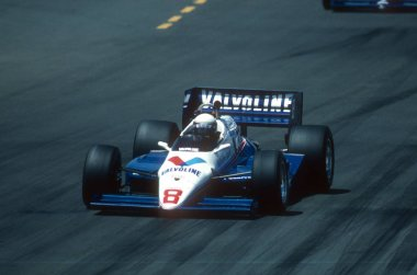 Raul Boesel Indy Race Car Driver1986.