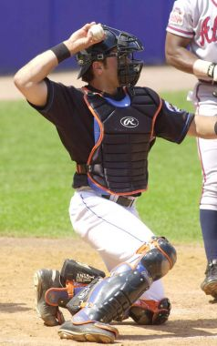Mike Piazza Catcher for the New York Mets.