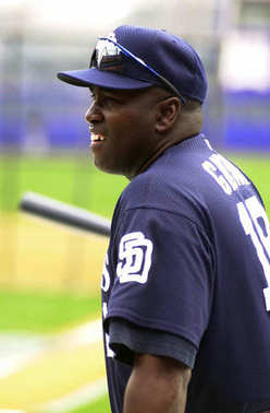Tony Gwynn of the San Diego Padre
