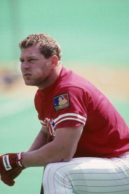 Lenny Dykstra  of the Philadelphia Phillies.