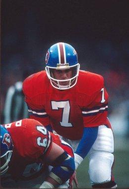 John Elway Hall of Fame Quarterback for the Denver Broncos.
