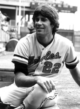 Jim Palmer Hall of Fame Pitcher for the Baltimore Orioles.