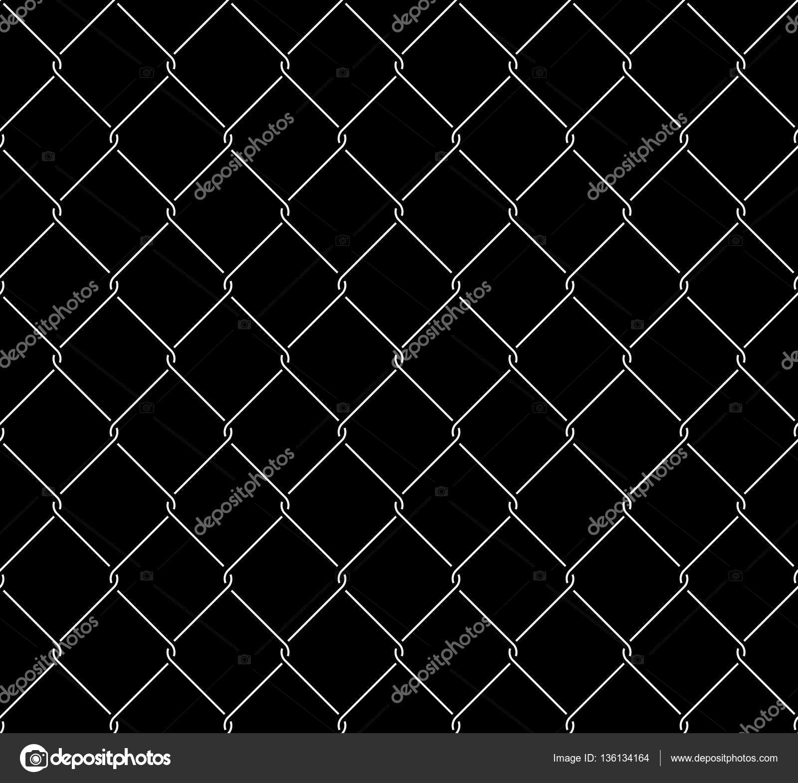 Metallic Wired Fence Seamless Texture Overlay — Stock Vector ...