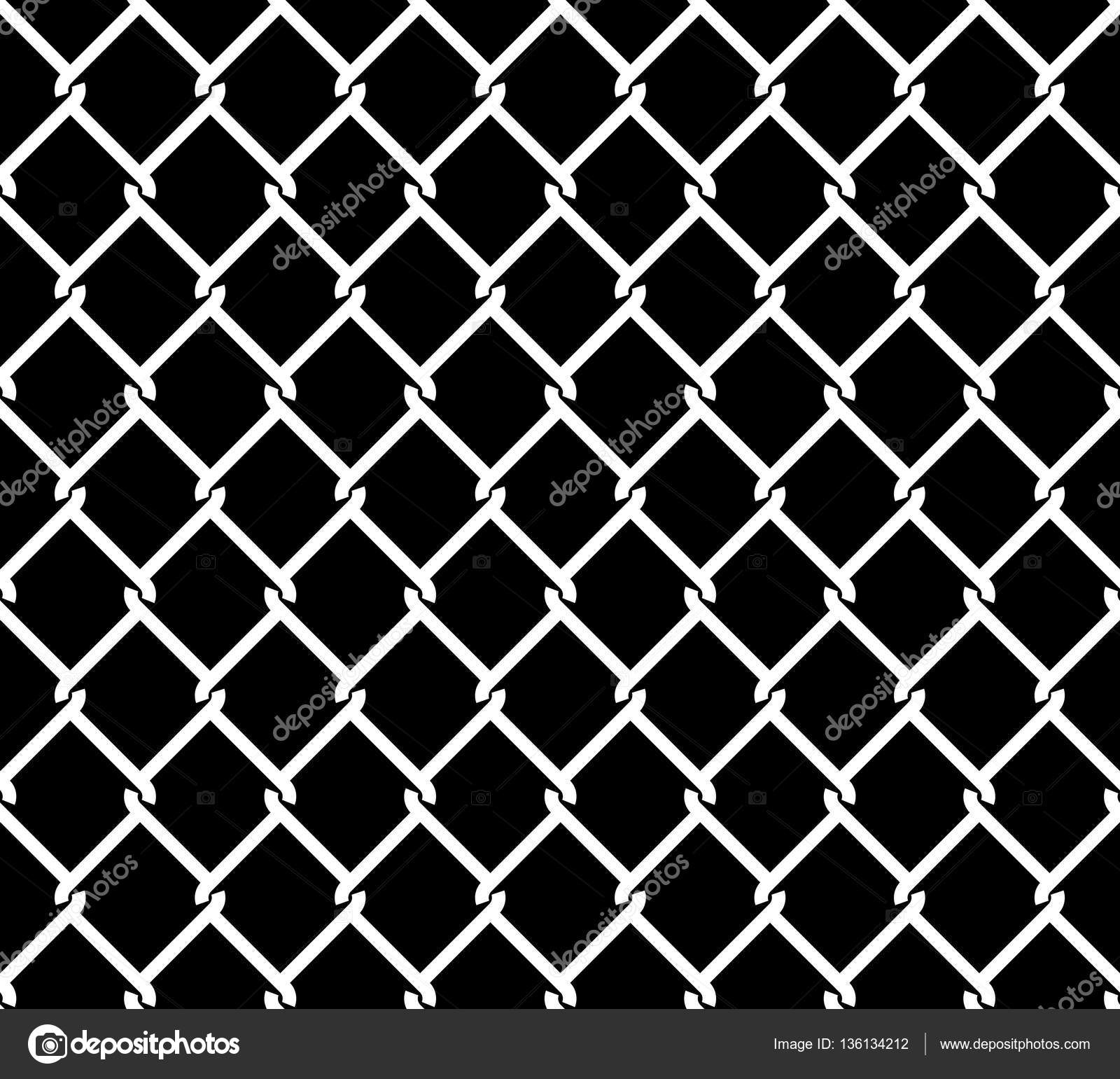 Metallic Wired Fence Seamless Texture Overlay — Stock Vector ...