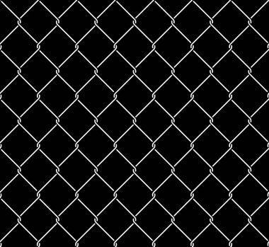 Metallic Wired Fence Seamless Texture Overlay