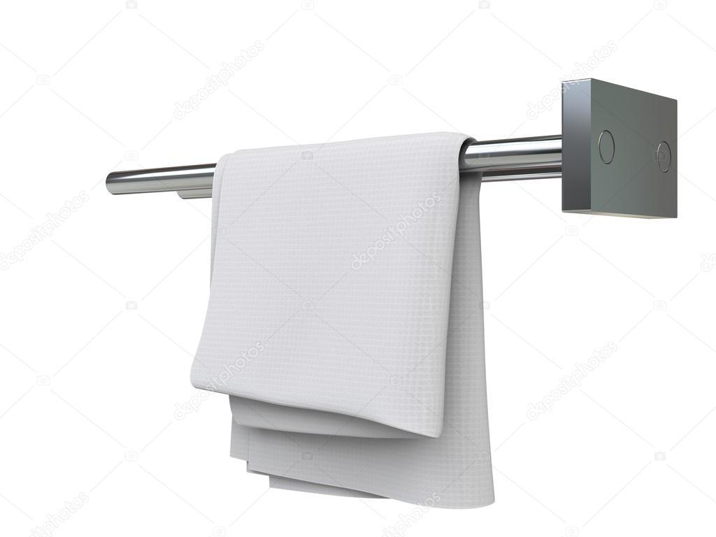 Paño blanco limpio sobre un bastidor de tela - closeup tiro — Foto ...