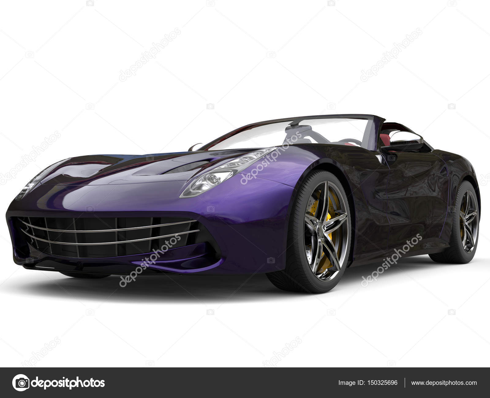 Purple Sports Cars Awesome Modern Sports Car With Two Tone