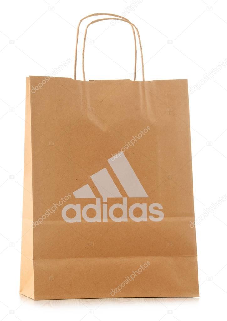 Adidas Blanco — Editorial De En Papel Aislado Originales Bolsa Foto 8kwP0OnX
