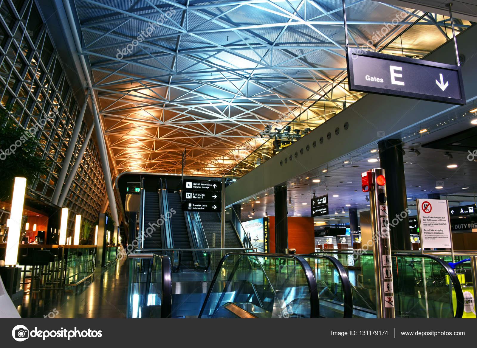 Aeroporto Zurigo Partenze : Aeroporto di kloten o aeroporto internazionale di zurigo u foto
