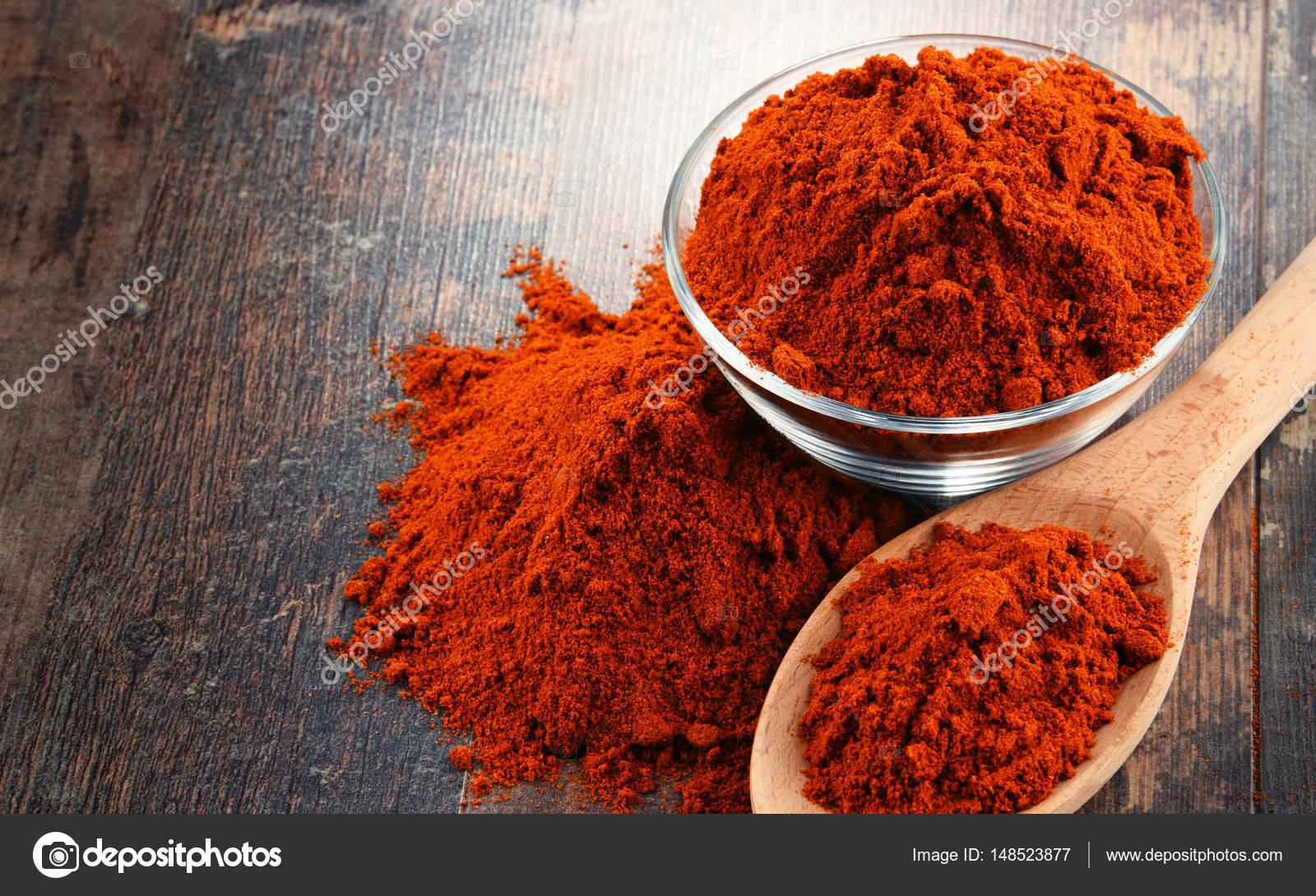 poudre chili composition