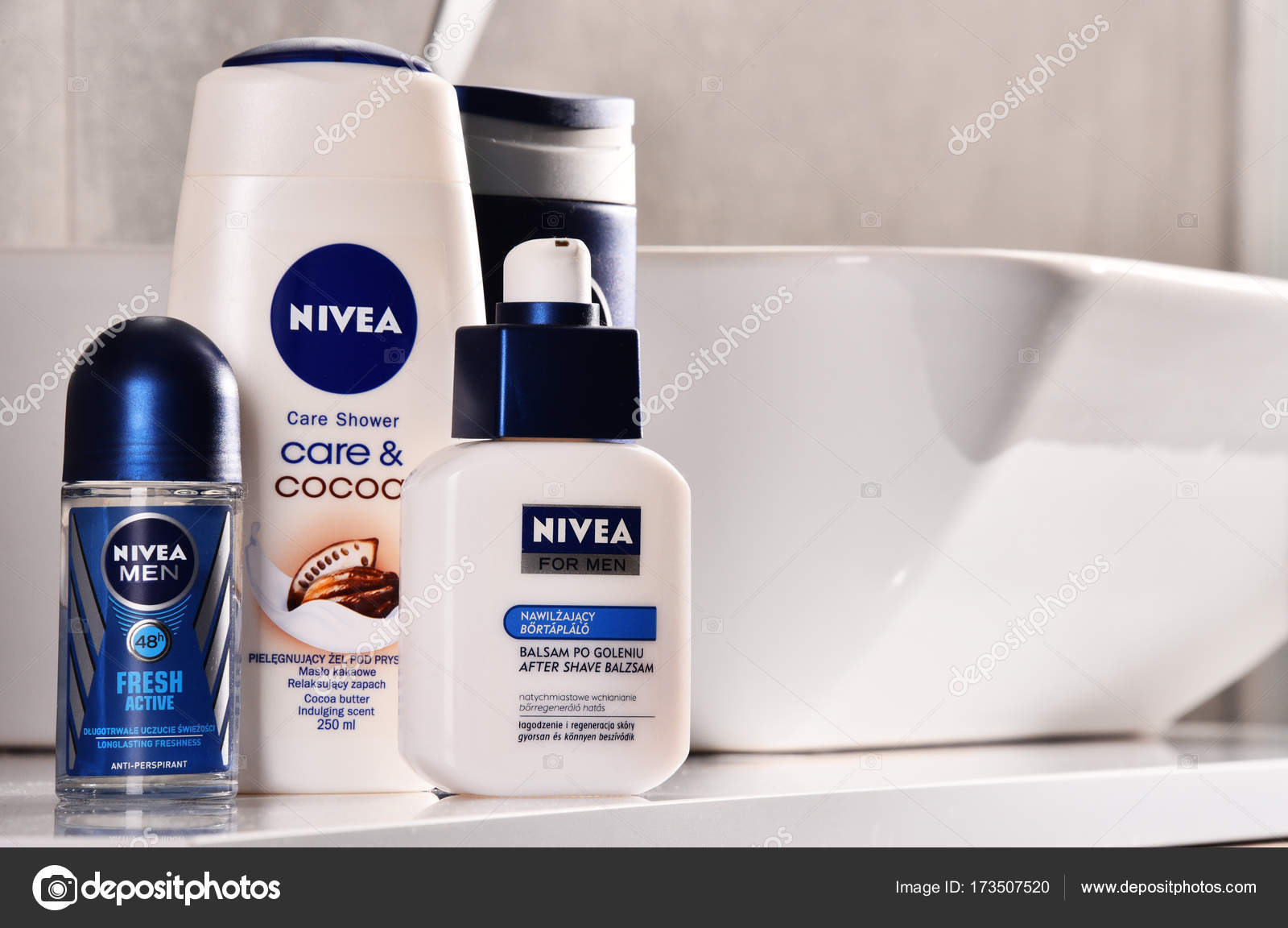 Variety Of Nivea Products Including Creme And Soap Stock Editorial Photo C Monticello 173507520