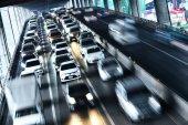 Dálnice v Bangkoku při dopravní špičce