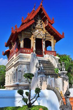 Wat Phra Singh, a Buddhist temple in Chiang Mai, Thailand