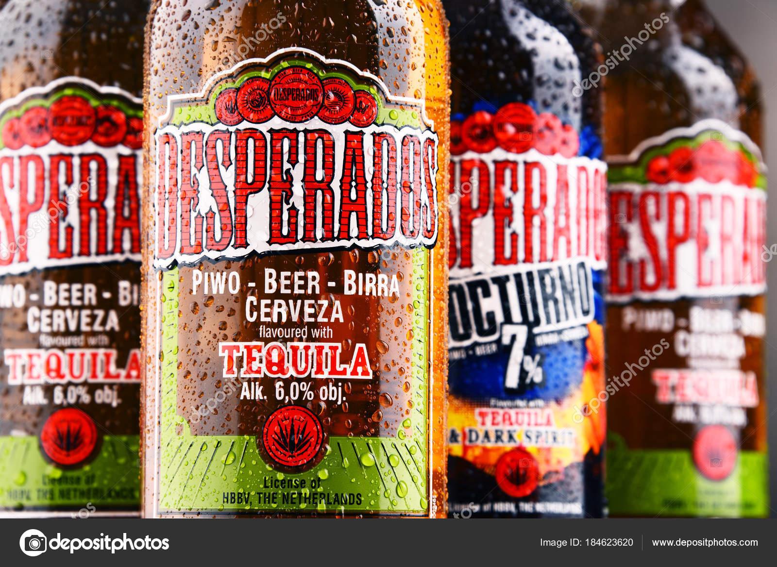 Three Bottles Of Desperados Beer Stock Editorial Photo C Monticello 184623620