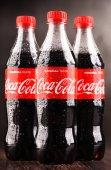 Láhví sycené limonády Coca Cola