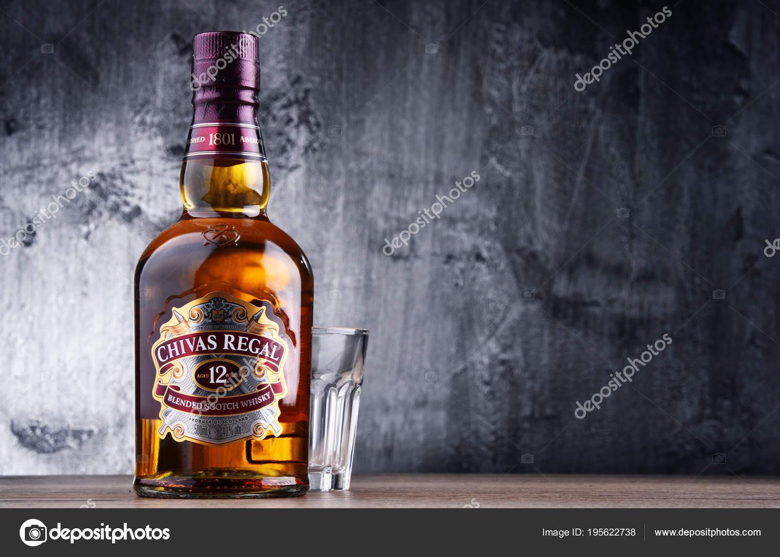 Chivas regal, eine Flasche