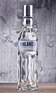 Bottle of Finlandia vodka