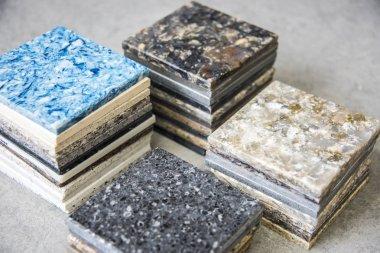Marble Countertop samples.