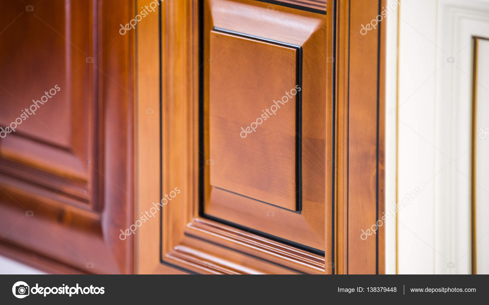 Wooden Maple Kitchen Doors Stock Photo Image By C Studiodin 138379448