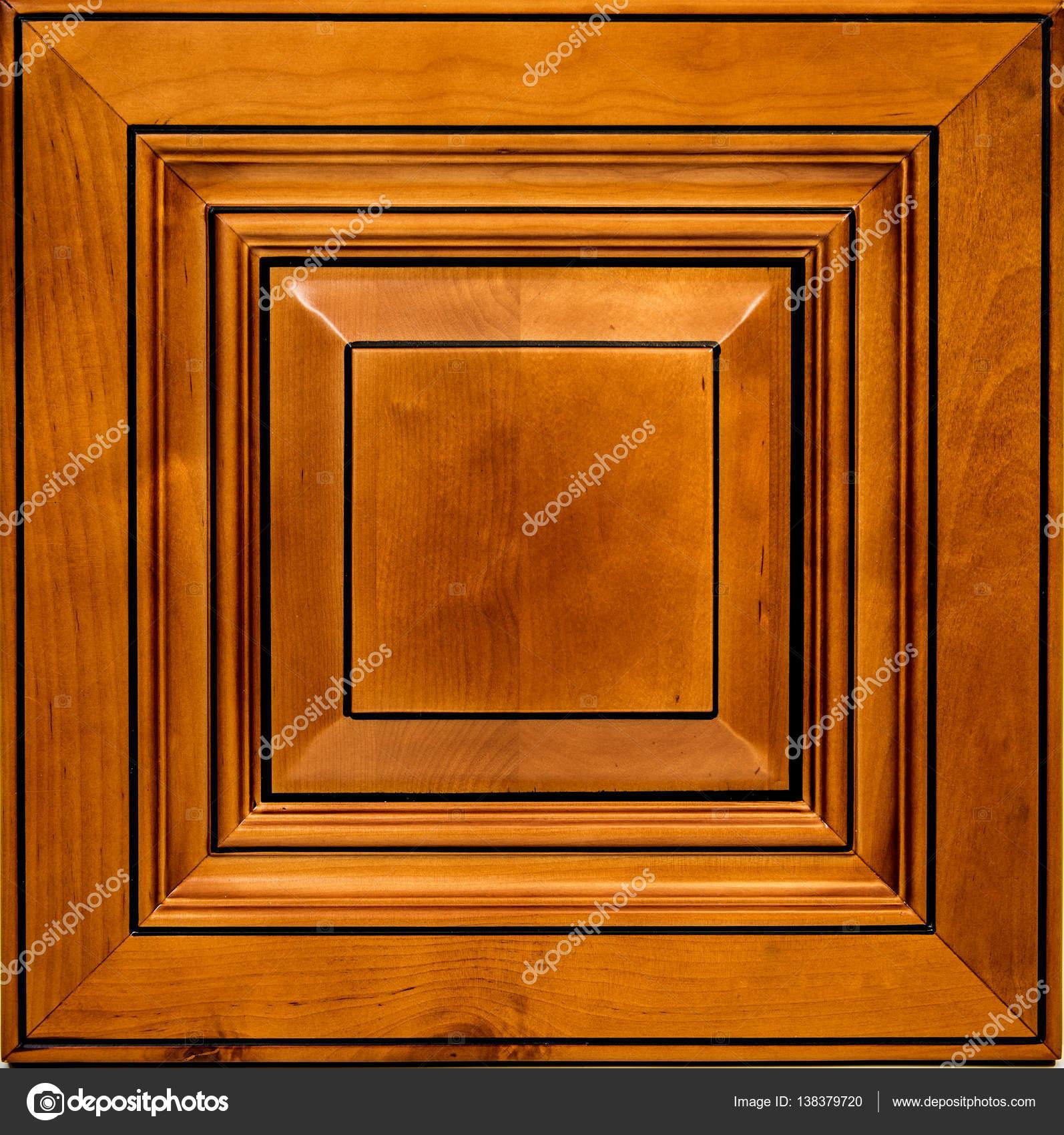 Isolierte vordere rot-Ahorn Holztür für Küchenschränke. Schrank ...
