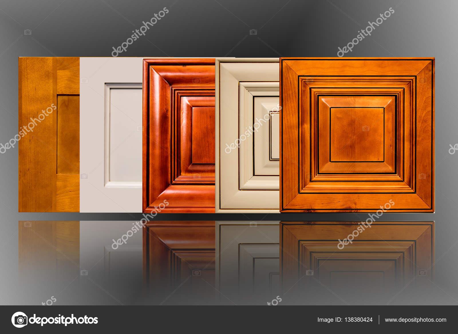 Photos Kitchen Door Designs Kitchen Cabinet Doors Made Of Wood Stock Photo C Studiodin 138380424