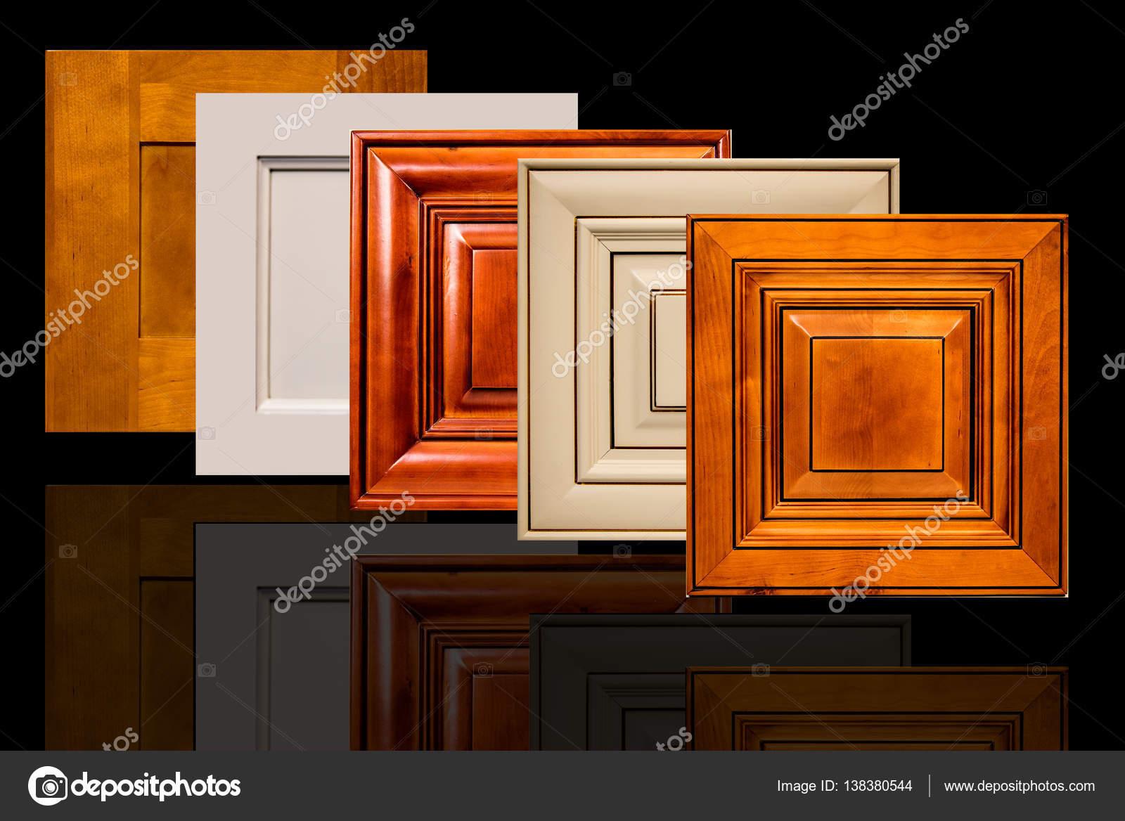 Modern Wooden Kitchen Cabinet Doors Stock Photo Studiodin
