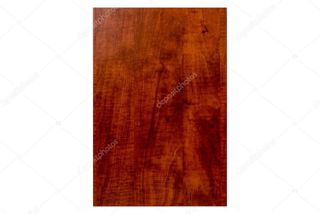 Isolés avant rouge cerise porte en bois pour salle de bain et ...