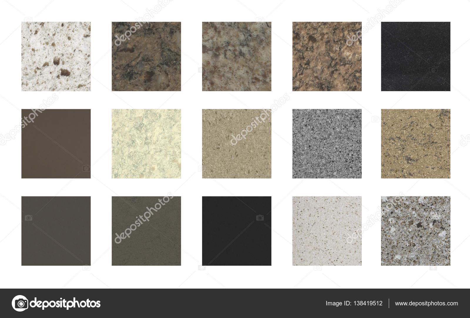 Próbki Kolorów Blaty Kuchenne Zdjęcie Stockowe Studiodin 138419512