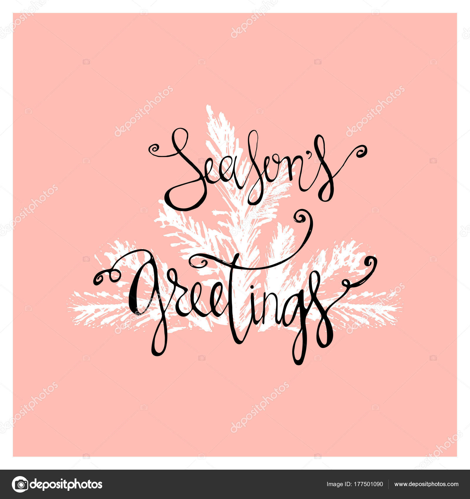 Seasons greetings abstract hand drawn calligraphy card design seasons greetings abstract hand drawn calligraphy card design creative artistic textures background for postcards invitations greeting cards banners kristyandbryce Choice Image