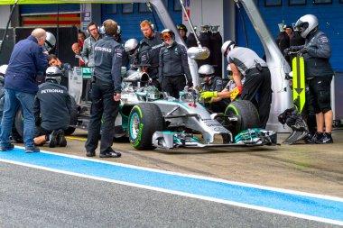 Team Mercedes F1, Nico Rosberg, 2014