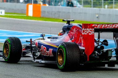 F1 races on training session